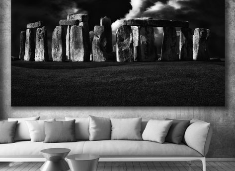 Fotokonst - Tavla - Stone Age