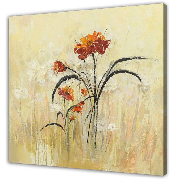 Tavla Blommor -Flower love