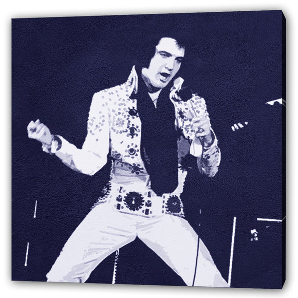 Elvis Tavla -Rock 'n' roll legend