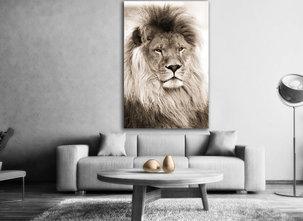 Lejon tavla