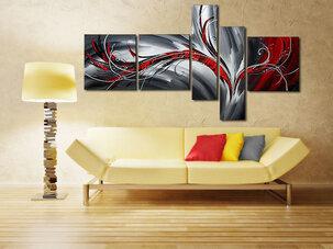 Abstrakt Tavla / Oljemålning Lolo