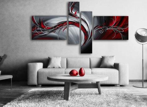 Abstrakt Red Phoenix