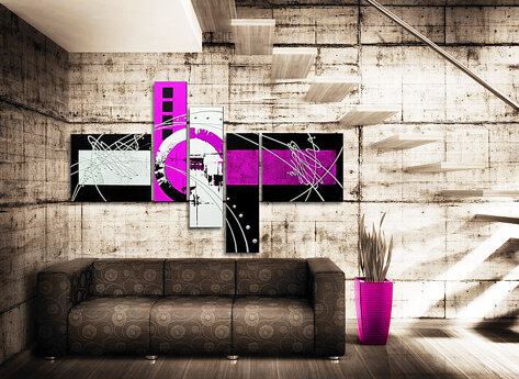 Abstrakt Studio 54