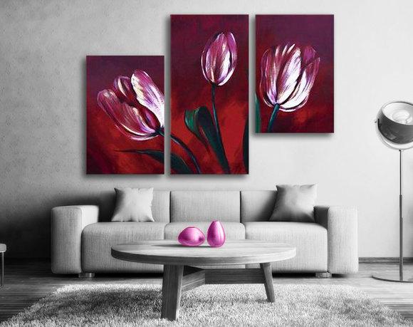 Blomster Lilla tulipaner