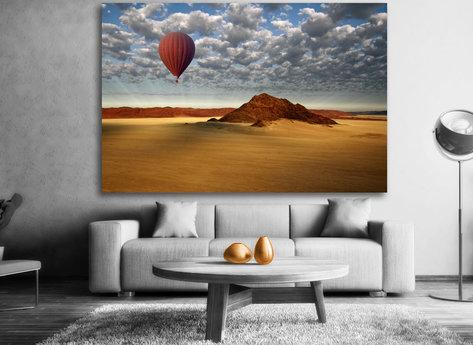 Luftballong tavla