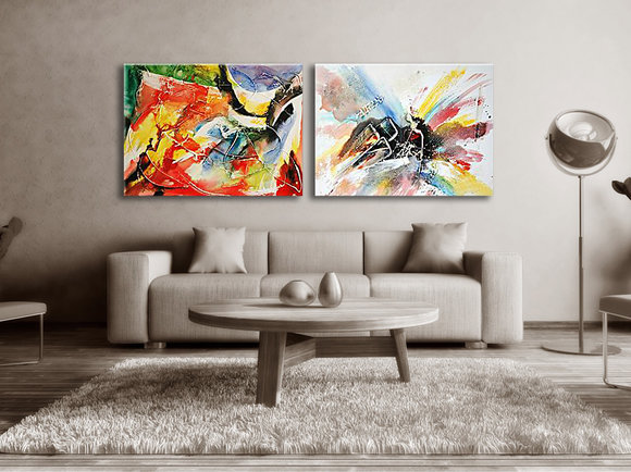 Abstract painting Chullora