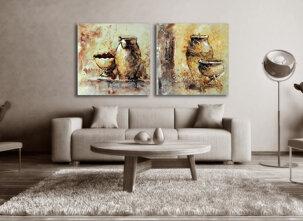 Abstract painting Glen Iris