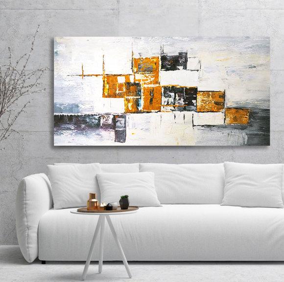 Abstrakt - Oljemålning - Antonina