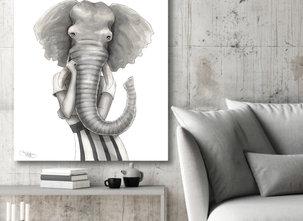 Katarina Vintrafors -TAVLA -Elephant woman